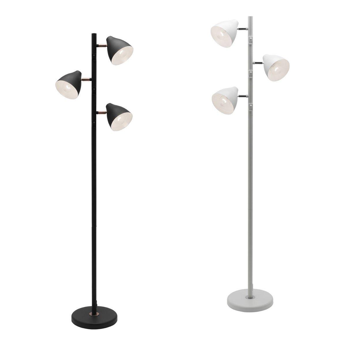 Jeremy 3 light floor lamp f co aloadofball Choice Image
