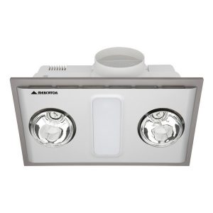 Cosmo Duo Bathroom Heater With Exhaust & Light