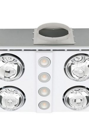 Magnus Quattro Bathroom Heater & Exhaust