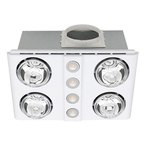 Magnus Quattro Bathroom Heater & Exhaust