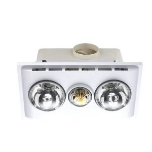 Uniglow Led Bathroom Heater With Exhaust & Light