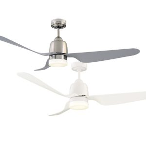Manly 1300 Dc Ceiling Fan With Led Light
