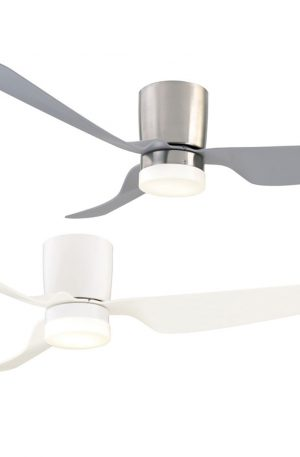 City 1300 Dc Ceiling Fan With Led Light