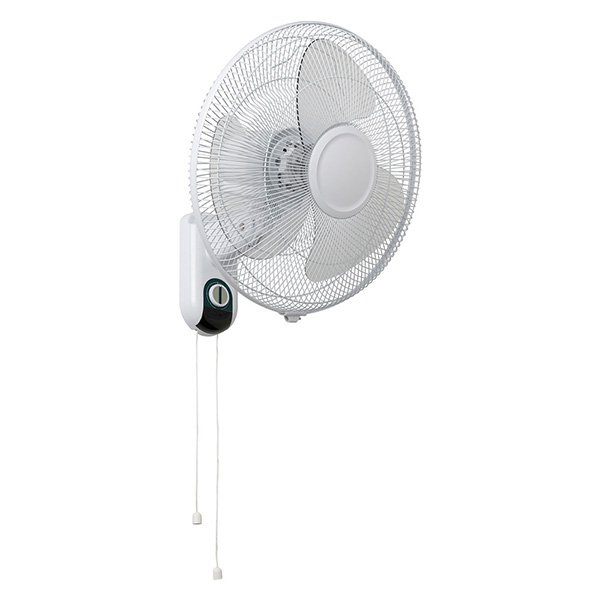 Athena II Wall Fan With Pull Cord