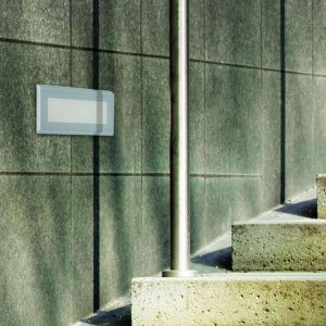 Chunk Recessed Outdoor Wall Light