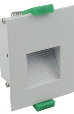 Slip 3.6w White Recessed Step Light