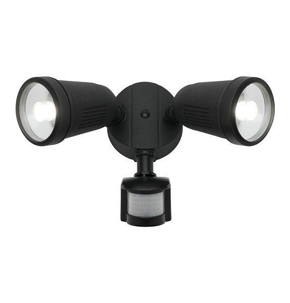 Otto 2 Light Led Flood Light With Sensor