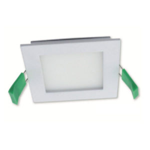 Flush 3w White Recessed Step Light