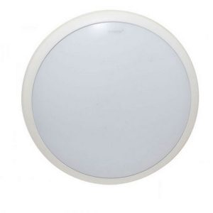 Lunar 38w Round White Oyster Surface Mounted Ceiling