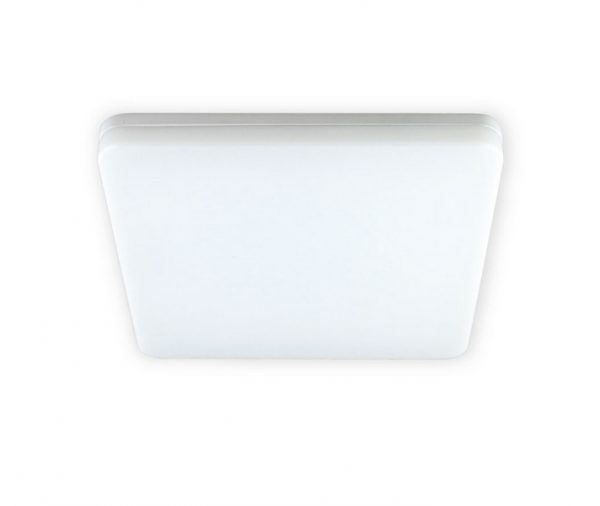 Razor 28w Brushed Nickel Square Exterior Oyster