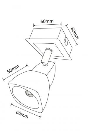 Quartz Single Spotlight Led Lamp