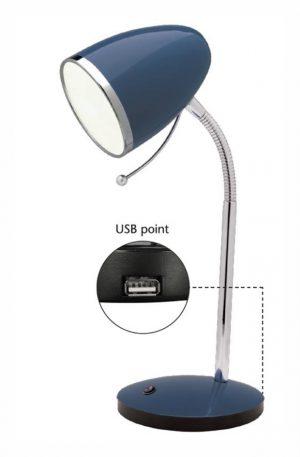Sara 1Lt Desk Lamp - USB optional 2