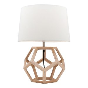 Peeta Natural Timber Table Lamp