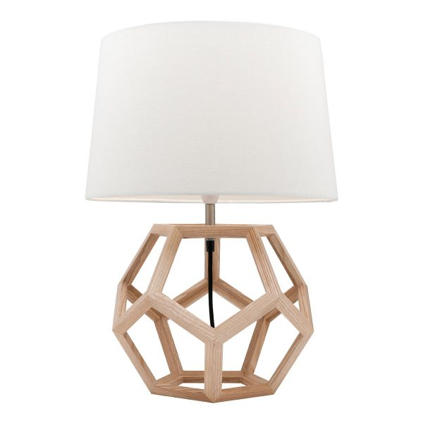Peeta Natural Timber Table Lamp
