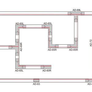 1.5m Standard 3 Circuit Track