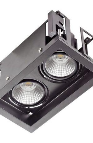 10w Twin Led Downlight Square