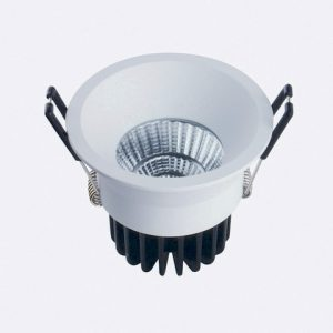 10w Led Downlight Round 75mm