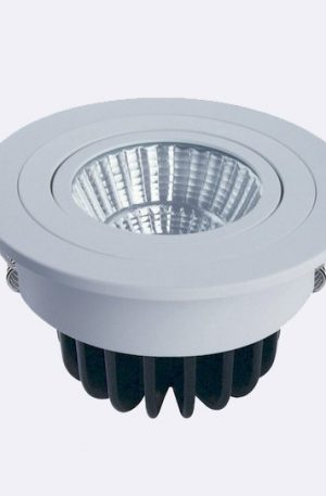 10w Led Downlight Round 80mm