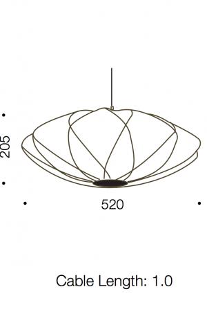Aragon Medium Pendant Light