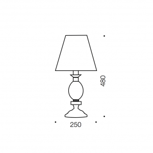 Crest Table Lamp