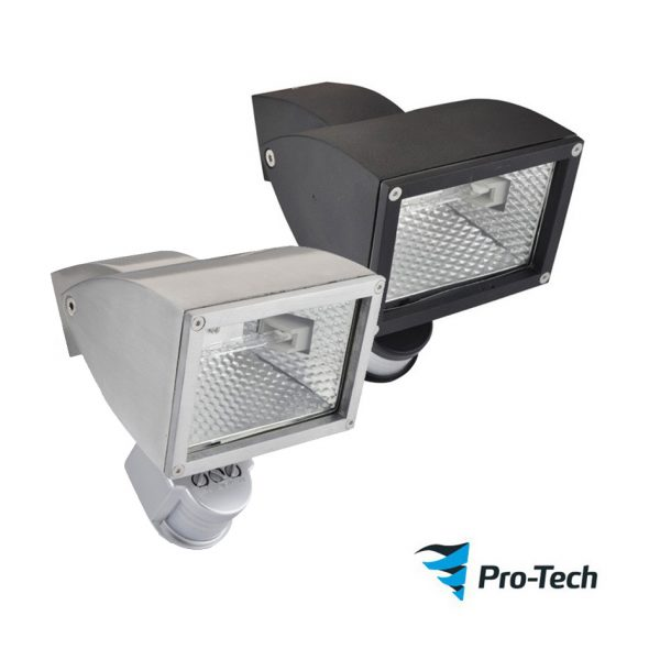 Wedge 1 Exterior Wall Floodlight With Motion Sensor