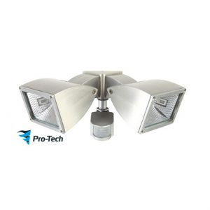 Wedge 2 Exterior Wall Floodlight With Motion Sensor