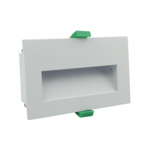 Slip 4.5w White Recessed Step Light