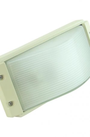 Rectangular 240v Exterior Bunker Light