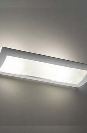 Ceramic Frosted Glass 60cm Wall Light Bf-8186