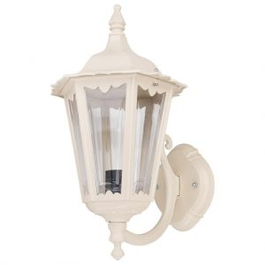 Chester Upward Curved Arm Wall Light