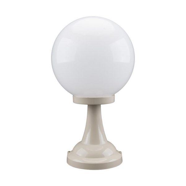 Siena 25cm Sphere Pillar Mount Light