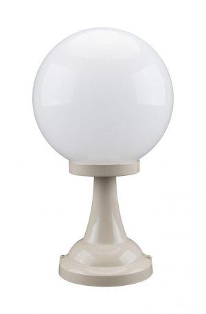 Siena 30cm Sphere Pillar Mount Light