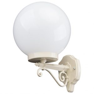 Siena 25cm Sphere Upward Wall Light