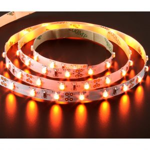 Strip-60 4.8w 1m 12v/amber Lights