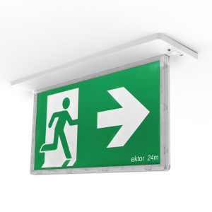 Razor 24m Exit Light & Sign