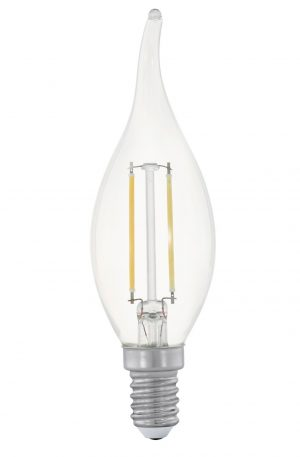 2w Flame Candle Led E14 Globe