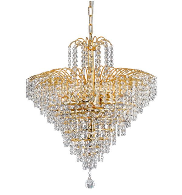 Cascade Chandeliers Large