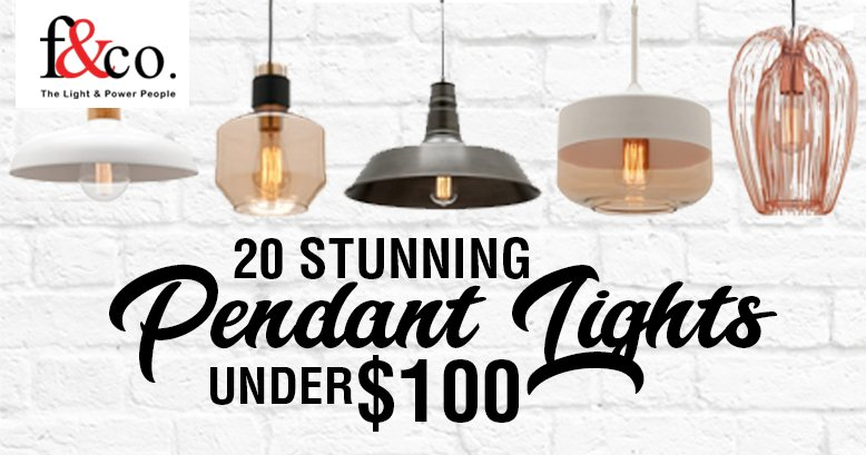 20 Stunning Pendant Lights Under $100
