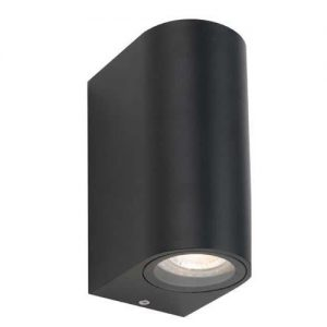 Eos Twin Lights Exterior Wall Lamp