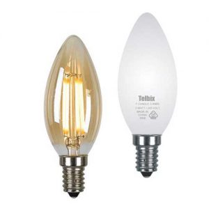 Filament Candle Led E14 Globe