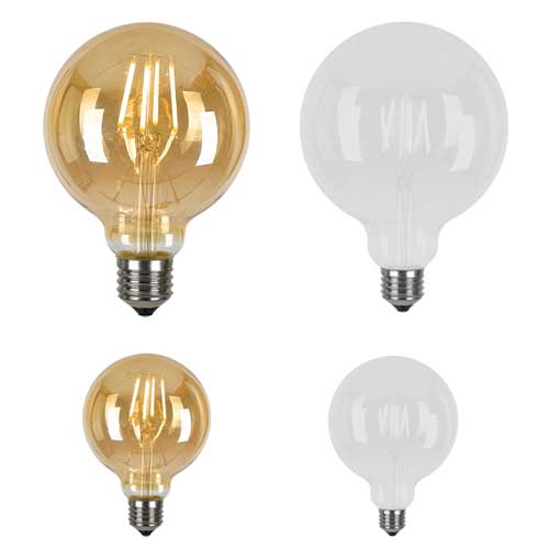 G95 Led Filament E27 Globe F Amp Co