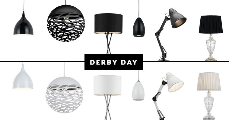 Derby Day Themed Lights