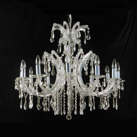 Davinci 12 Light Crystal Chandelier
