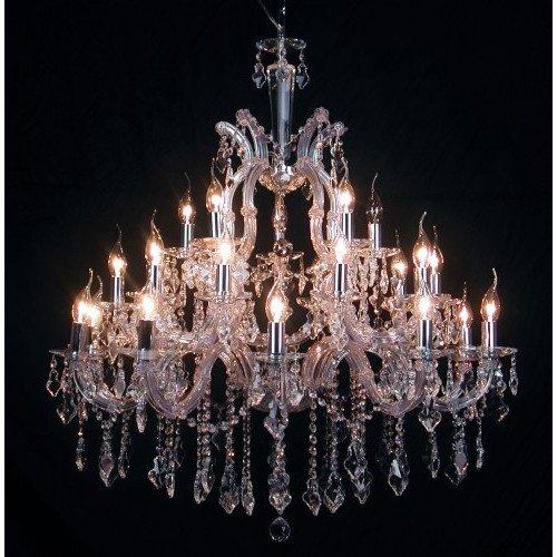 Davinci 25 Light Crystal Chandelier