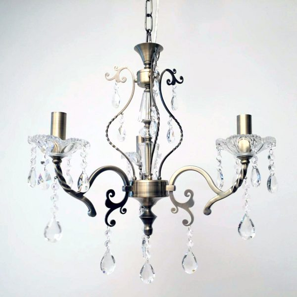Giovana 3 Light Crystal Chandelier