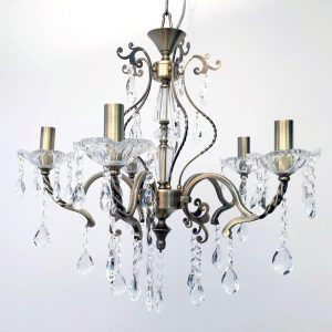 Giovana 5 Light Crystal Chandelier