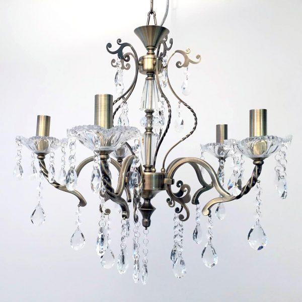Giovana 5 Light Crystal Chandelier