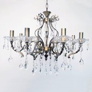 Giovana 8 Light Crystal Chandelier