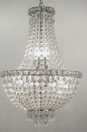 Olbia 5+2 Light Crystal Chandelier