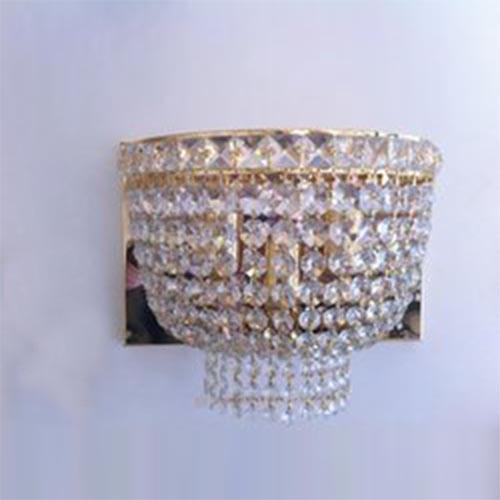Setat Three Light Crystal Wall Lamp
